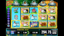 Invaders from the Planet Moolah Slot